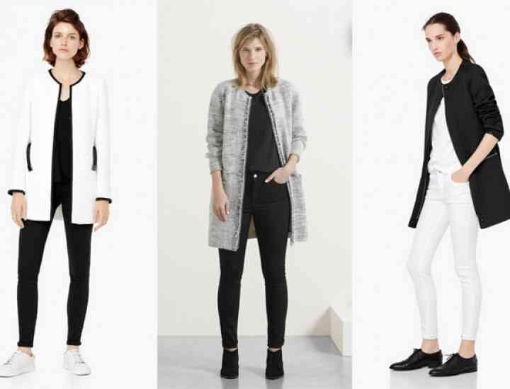 Mango introduce o nouă colecție de haine și jachete pentru toamna / iarna 2015-2016