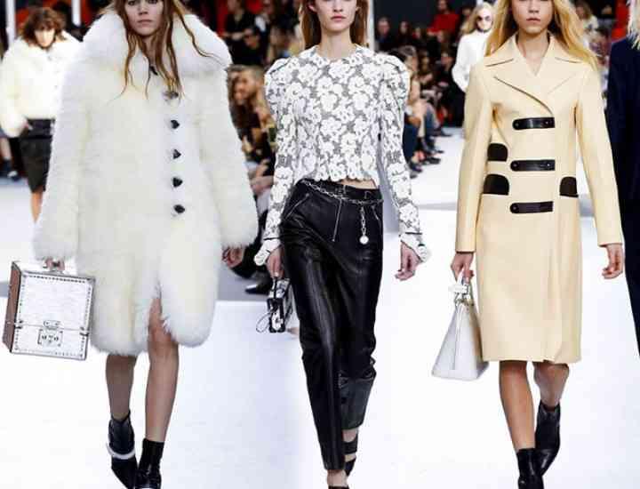 Blana – laitmotivul colecției Louis Vuitton pentru toamna-iarna 2015-2016