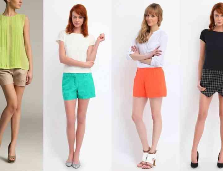Modele de pantaloni scurţi pentru toate siluetele