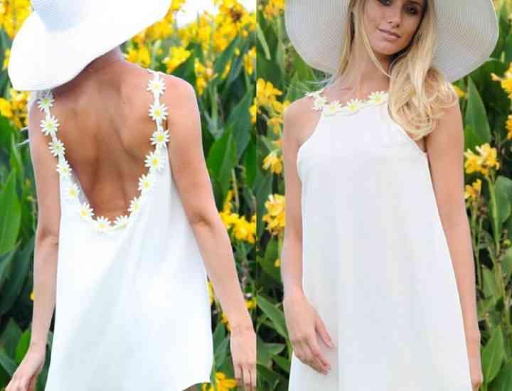 Cum să fii la modă într-o rochie albă în această vară