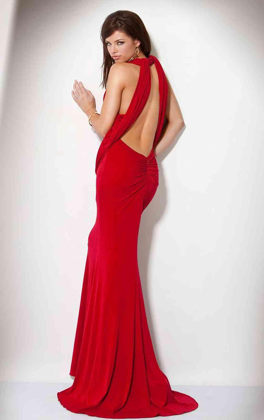 rochie spate decupat