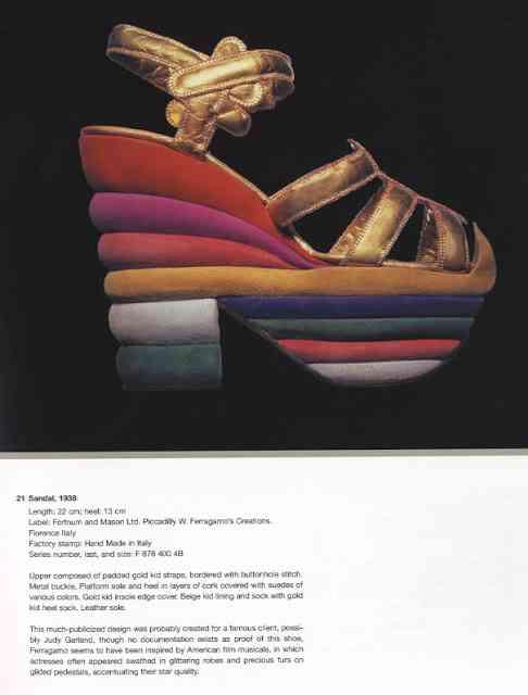 sandale salvatore feragamo 1938