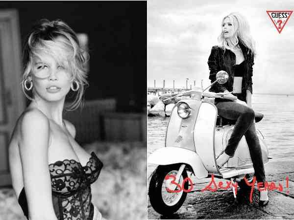 Claudia Schiffer gues