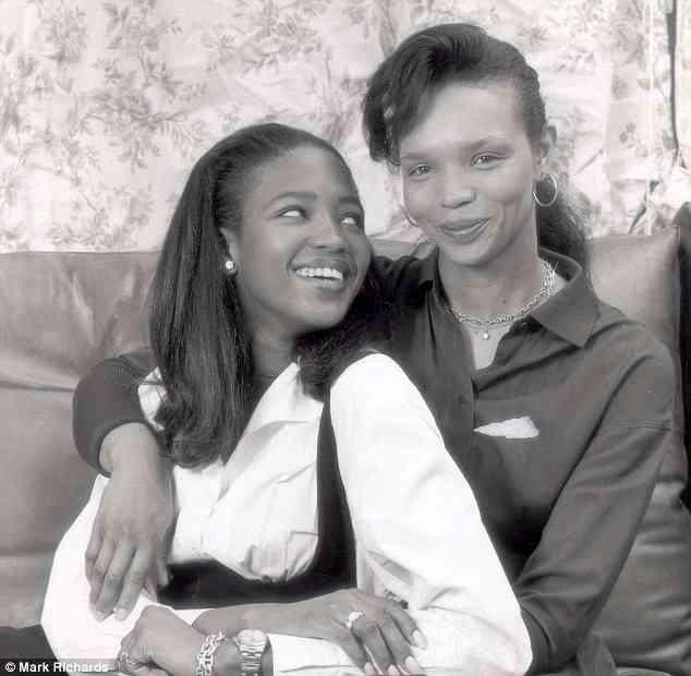 Naomi Campbell si mama ei