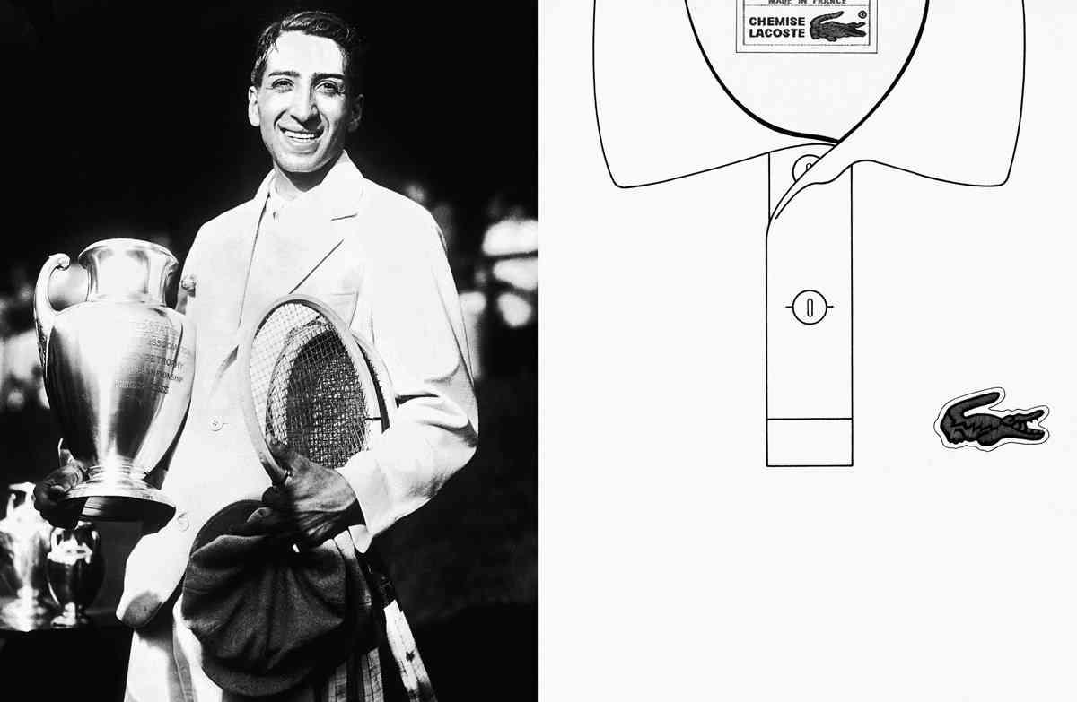 RENE-LACOSTE tricouri