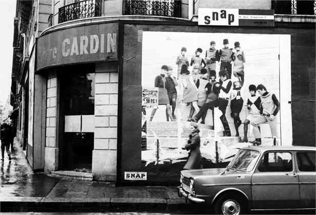 07 Jan 1967, Paris, France --- Original caption: Famous French fashion designer Pierre Cardin is now selling men's wear in new right bank male boutique on Boulevard St. Germain. --- Image by © Bettmann/CORBIS