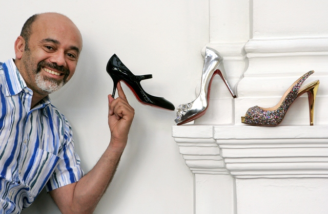 SINGAPORE: Christian Louboutin, 44, a shoe designer who was in town to promote the launch of his spring/summer and fall/winter collections at the On Pedder store in Ngee Ann City.