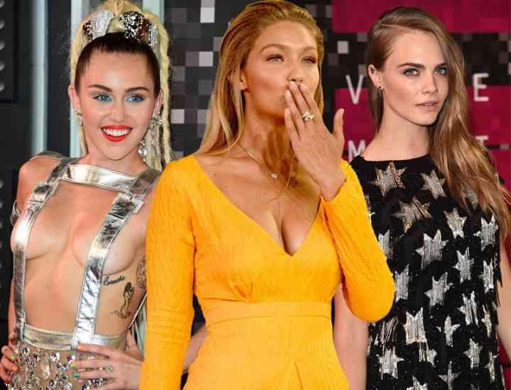 Ce au purtat vedetele pe covorul roșu la MTV Video Music Awards 2015
