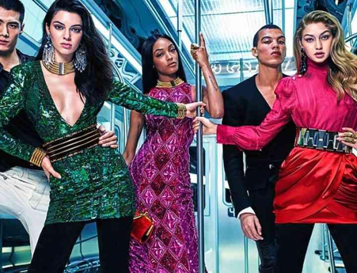 Mult așteptata campanie Balmain x H & M a fost lansată