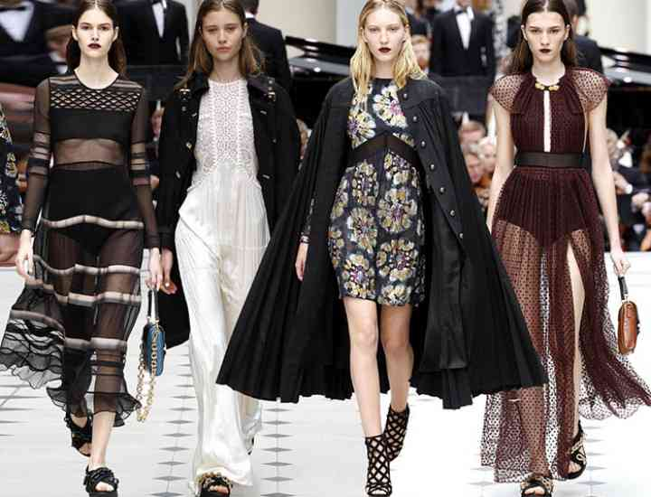 Colecția Burberry primăvară / vară 2016 – London Fashion Week