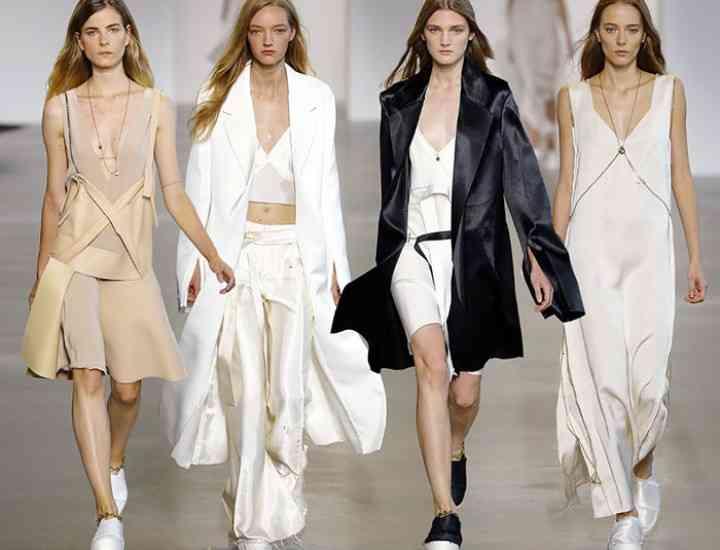 Calvin Klein o colecție neobișnuită pentru primăvara / vara 2016