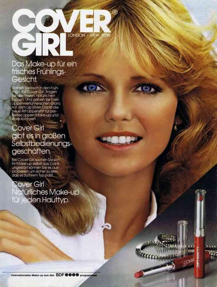 Cheryl Tiegs cover girl