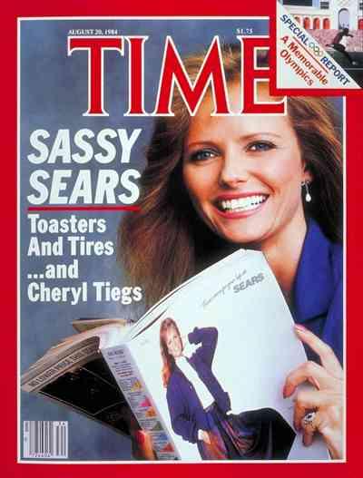 Cheryl Tiegs time