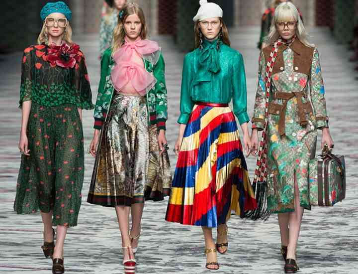 Colecția Gucci primăvară 2016 – Milano Fashion Week