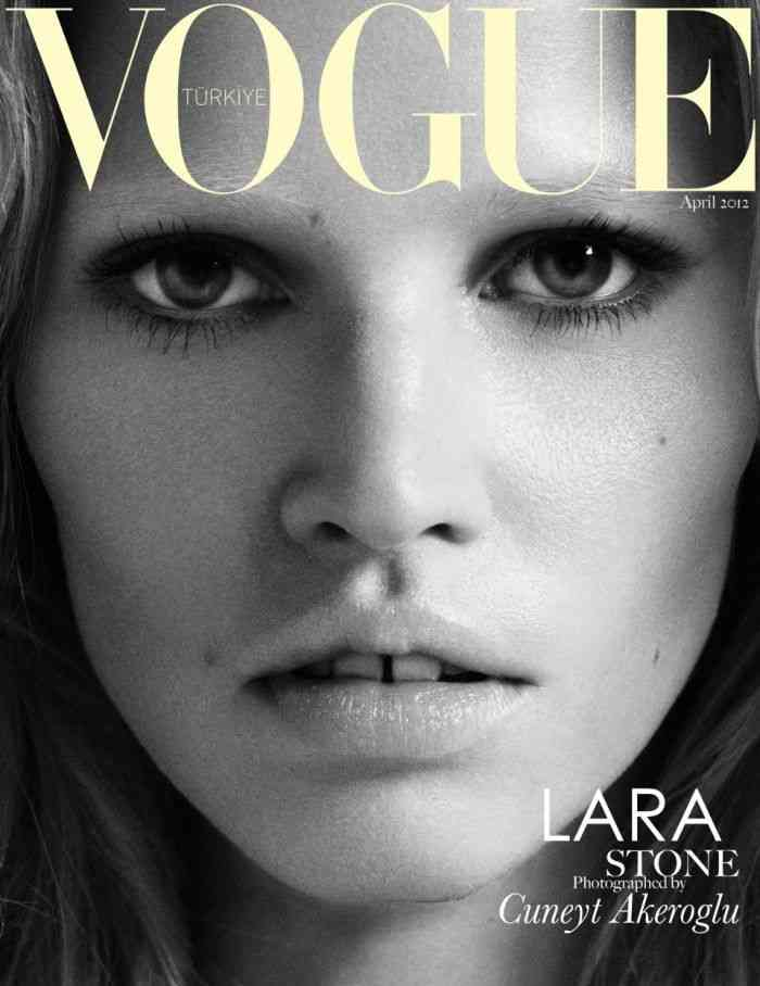 Lara Stone revista