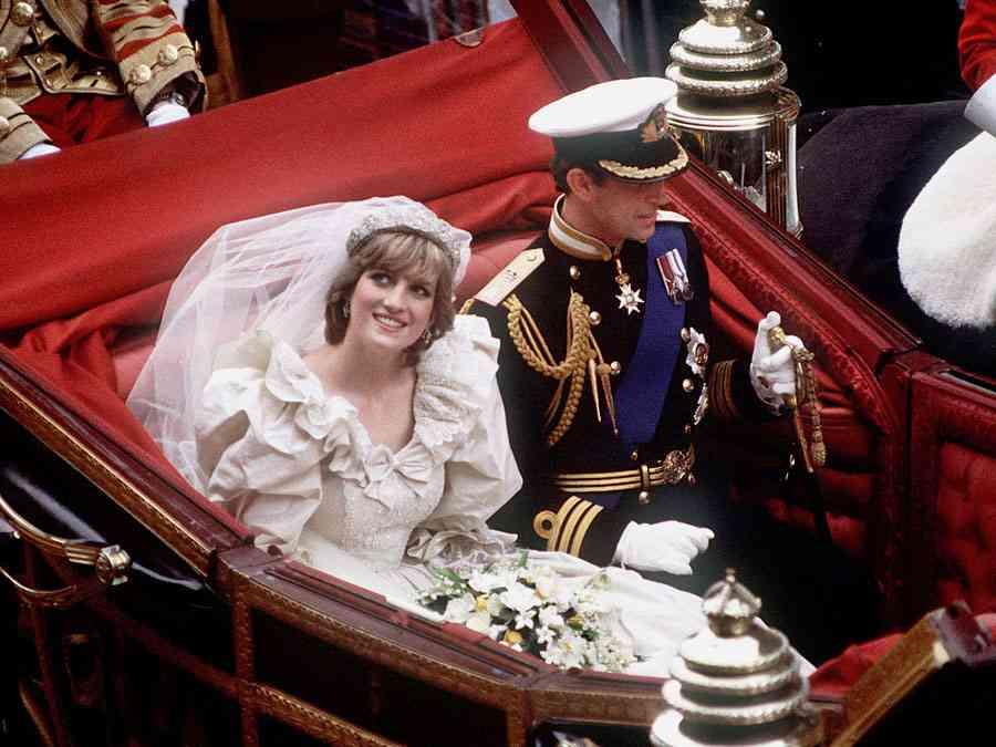Prințesa Diana casatorie