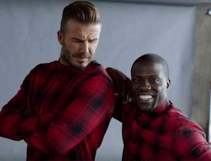 David Beckham și Kevin Hart în noua campanie H&M toamnă 2015