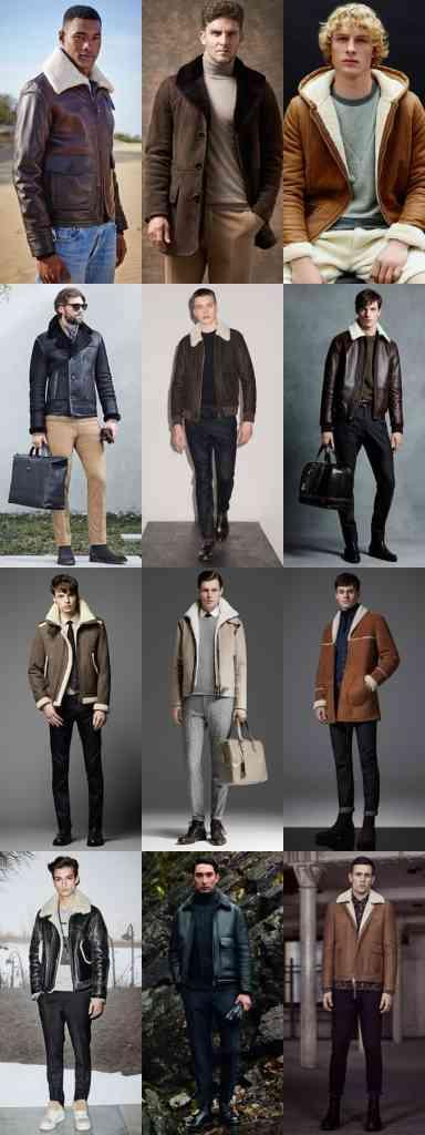 jachete cu guler imblanit