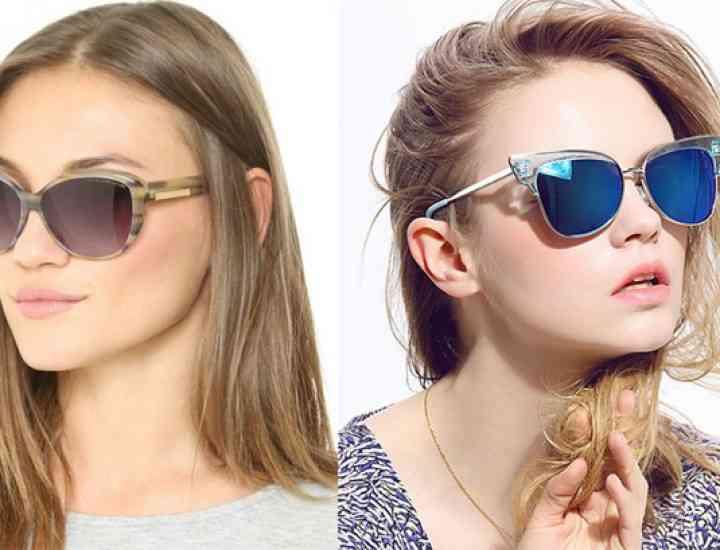 Ochelari de soare, rame și culori în funcție de forma feței