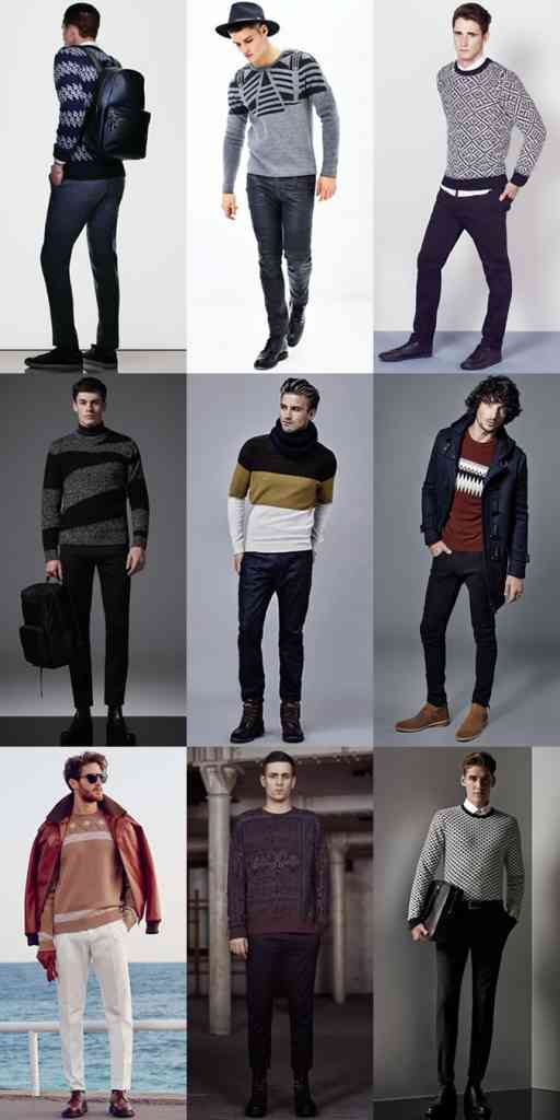 pulovere cu model stil grafic