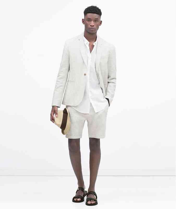 stil informal cu shorts