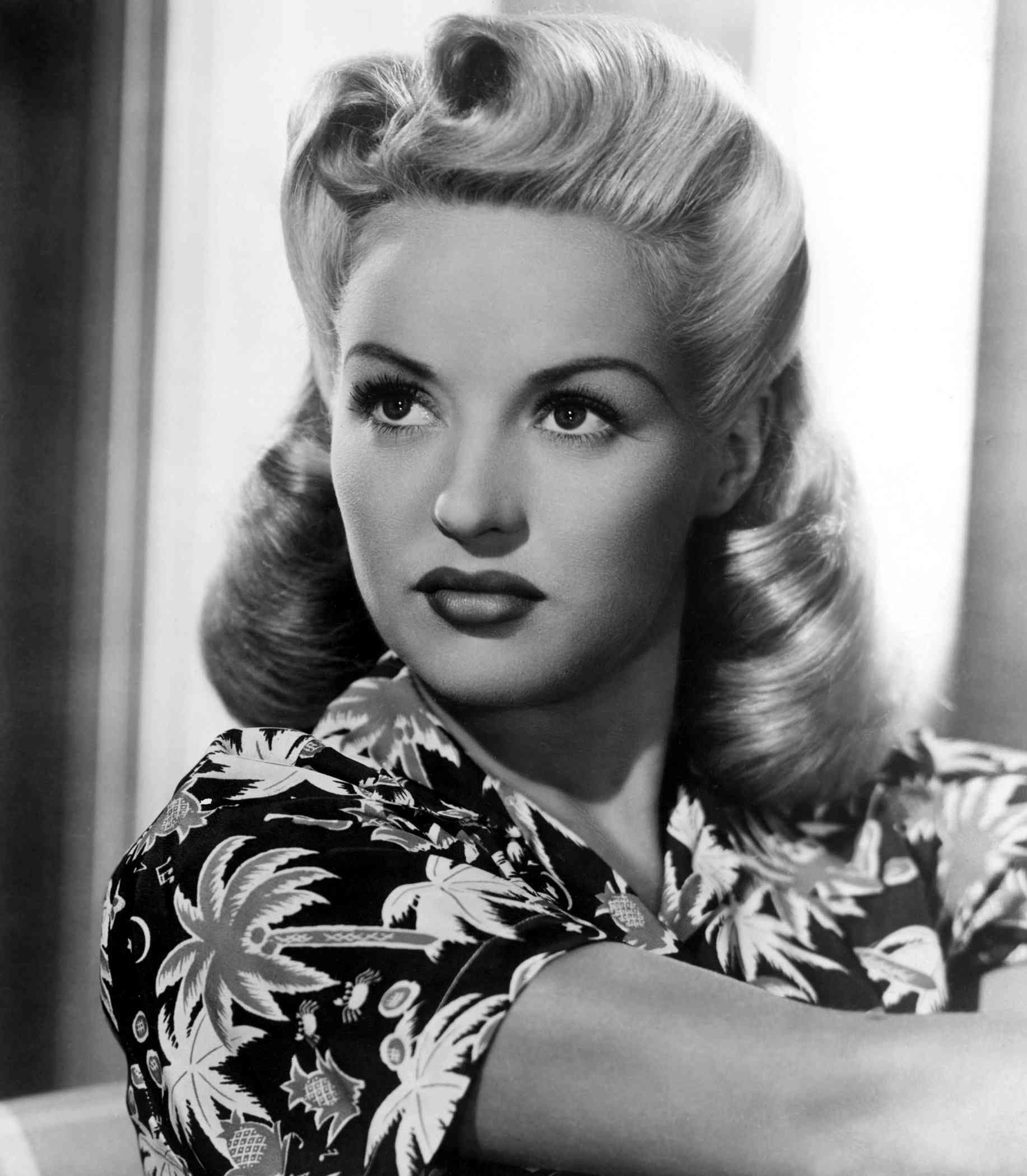 Betty Grable model
