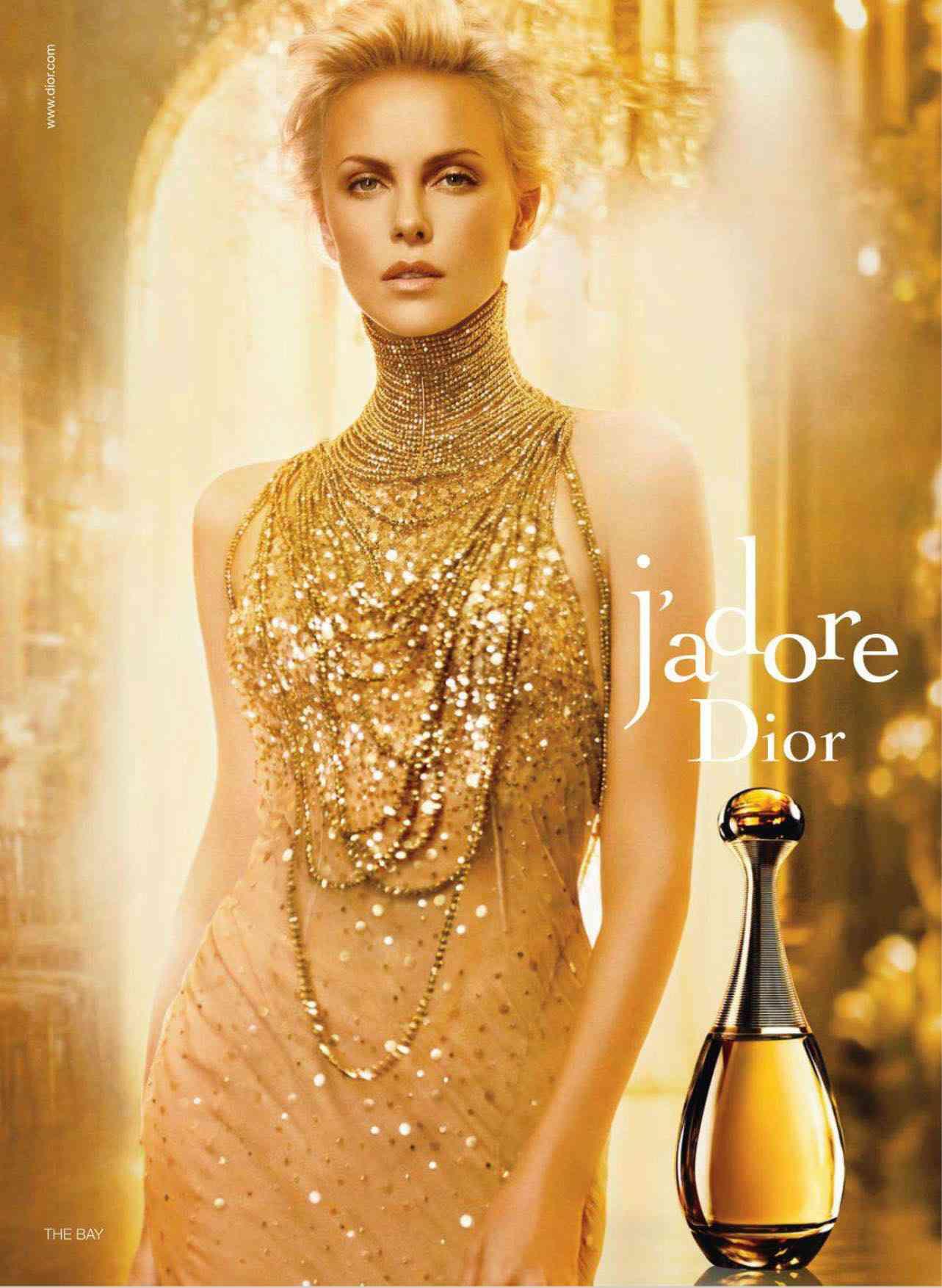 Charlize Theron parfum dior