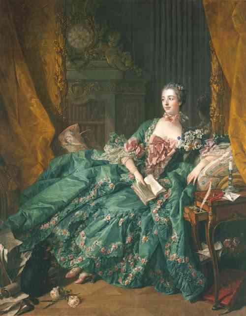 Madame de Pompadour muza
