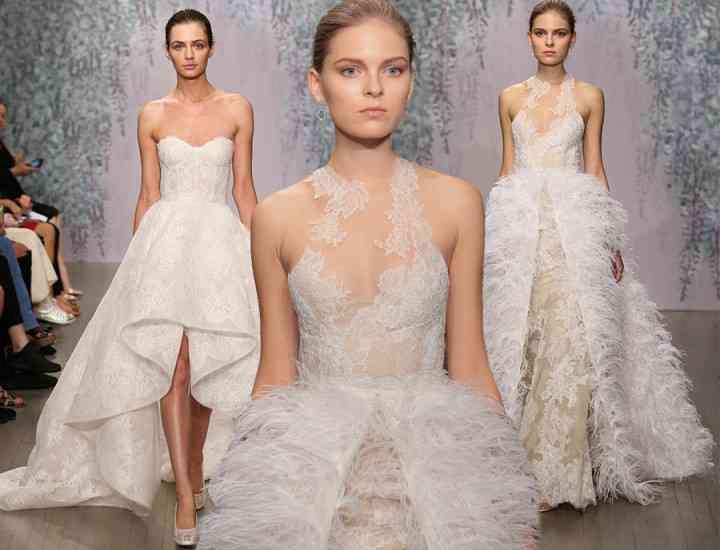 Colecția Monique Lhullier de rochii de mireasă pentru toamna 2016