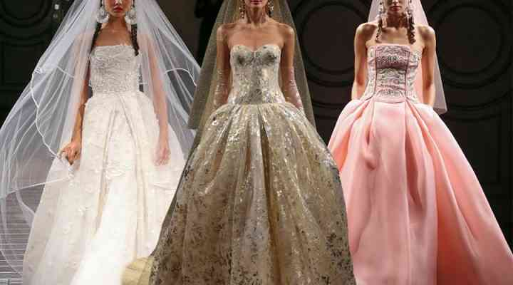 Naeem Khan, o colecție neconvențională de rochii de mireasă 2016