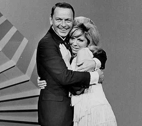 Nancy Sinatra si frank sinatra