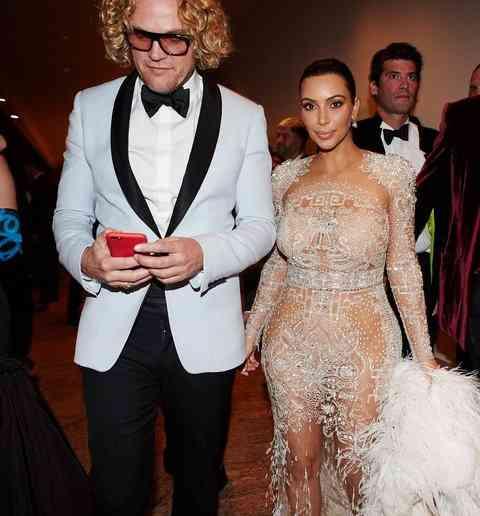 Peter Dundas si kim Kardashian