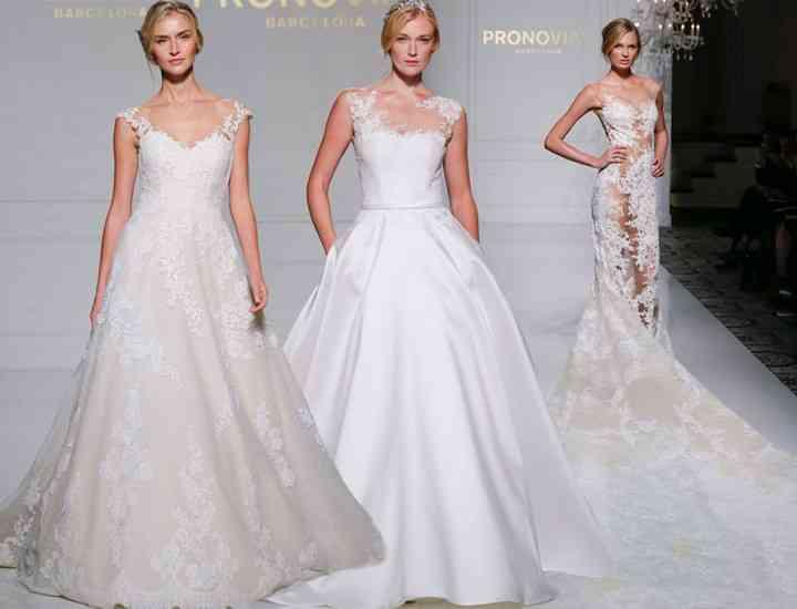 Colecția de rochii de mireasă Pronovias pentru toamna 2016