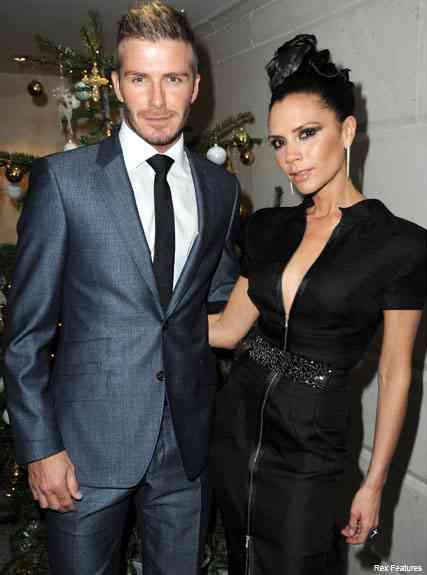 Victoria Beckham si david Beckham