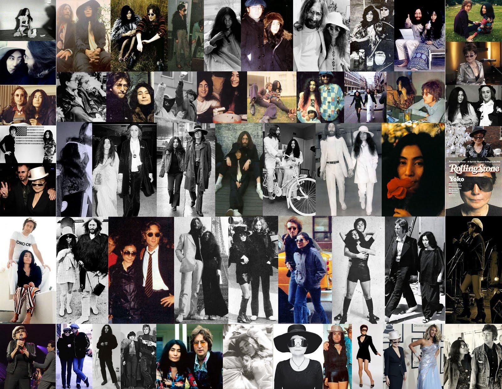 Yoko Ono moda