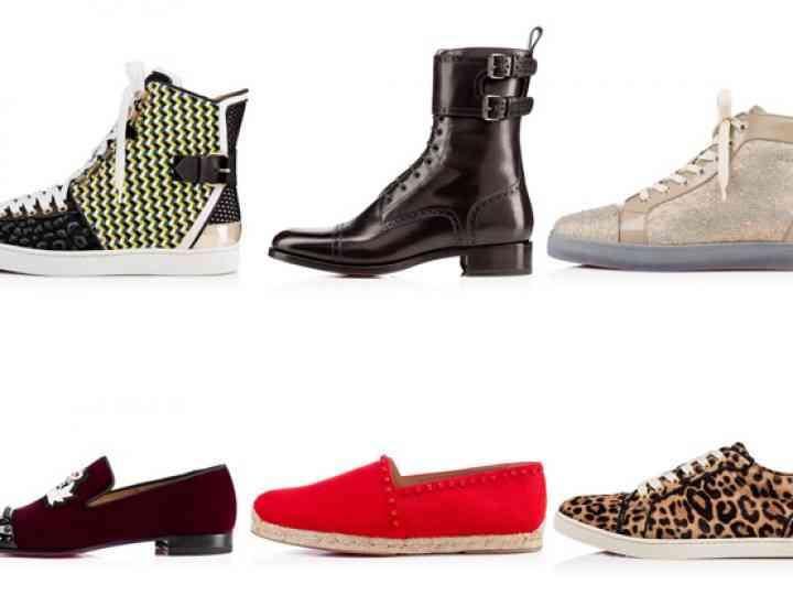 Colecția de pantofi pentru bărbați Christian Louboutin toamnă / iarnă 2015-2016