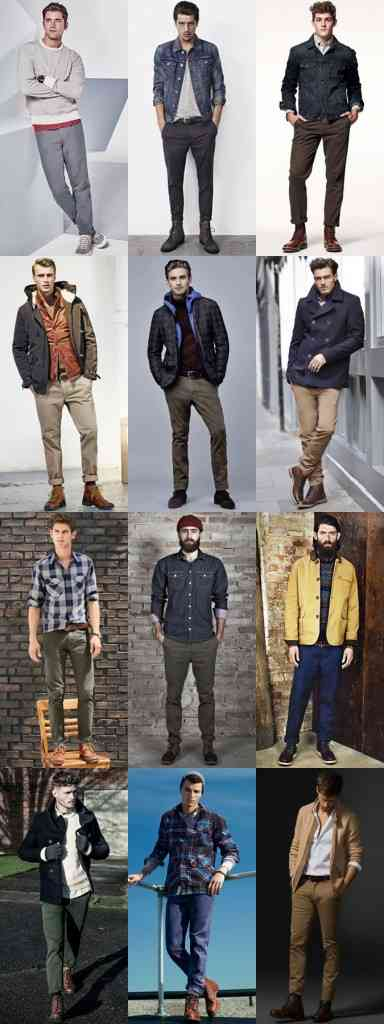 pantaloni in culori de sezon