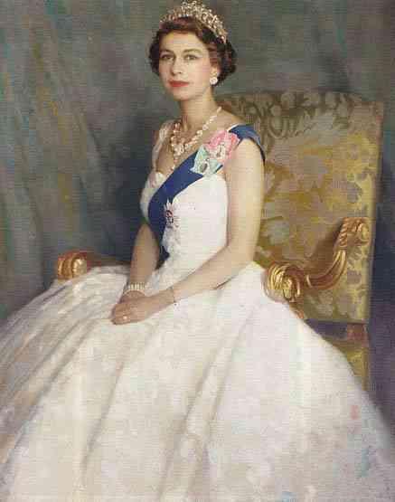 regina Elizabeta II