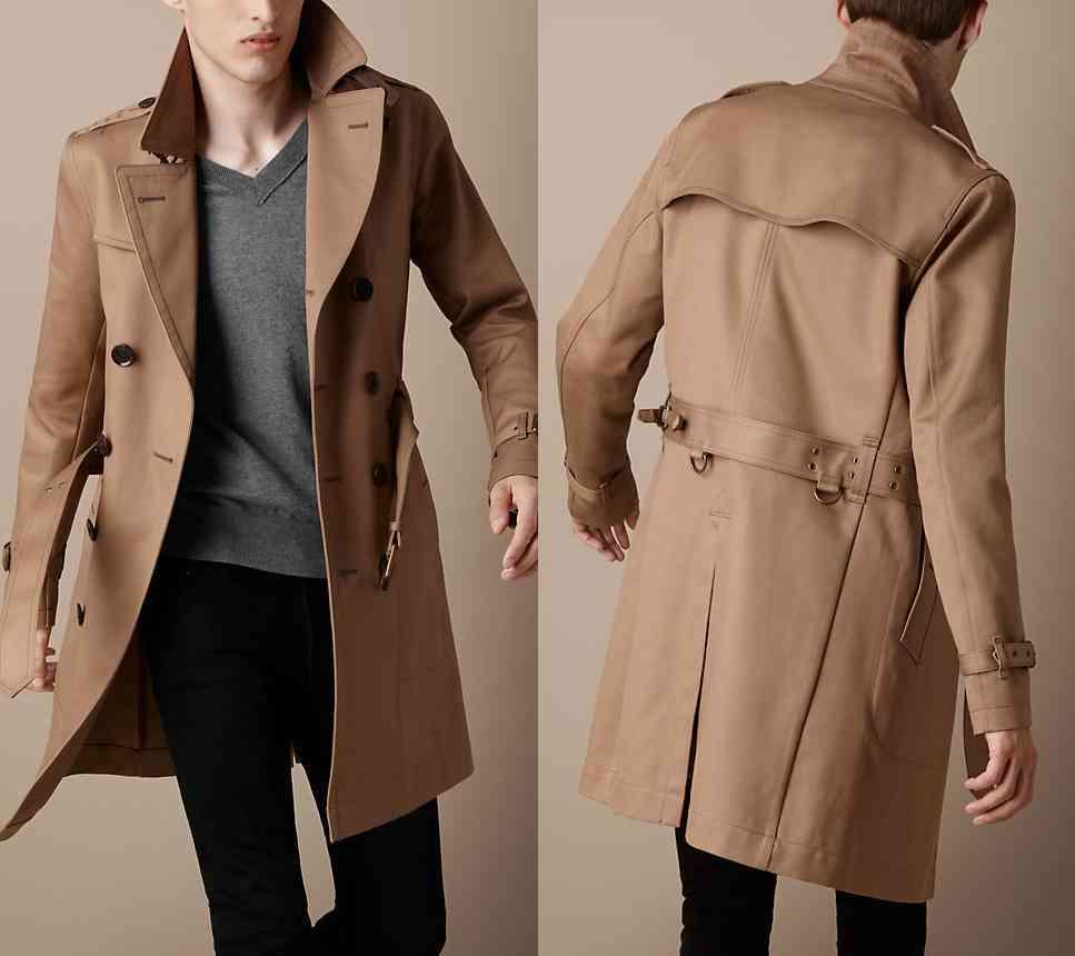 trench coat gentleman