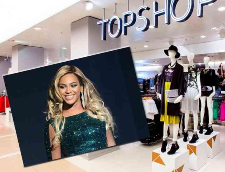 Beyonce lansează o linie de haine în colaborare cu Topshop