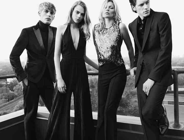 Mango lansează o campanie pentru sărbătorile 2015 cu Cara Delevingne și Kate Moss