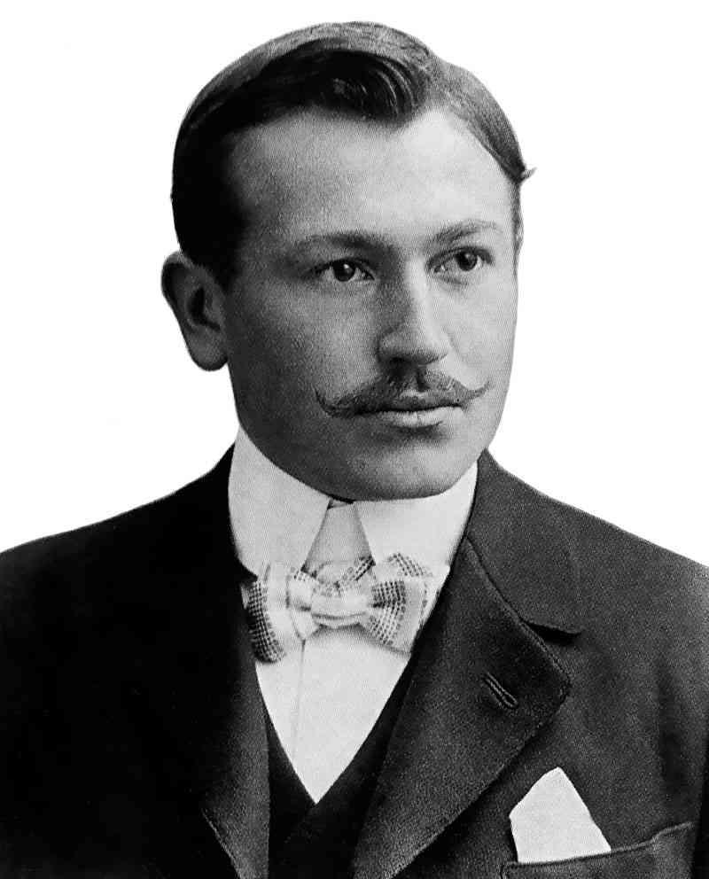 Hans-Wilsdorf, fondatorul brandului Rolex