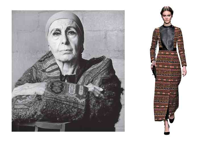 Louise Nevelson moda
