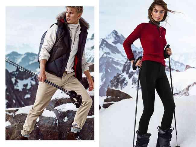 Massimo Dutti colectie ski