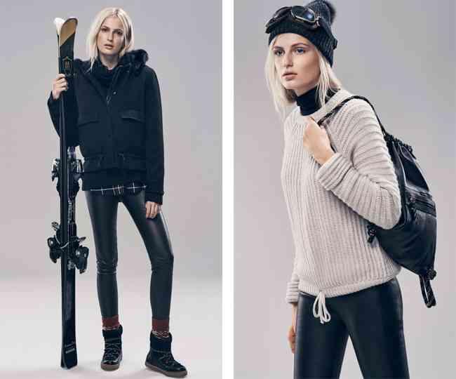 colectia Massimo Dutti de ski femei