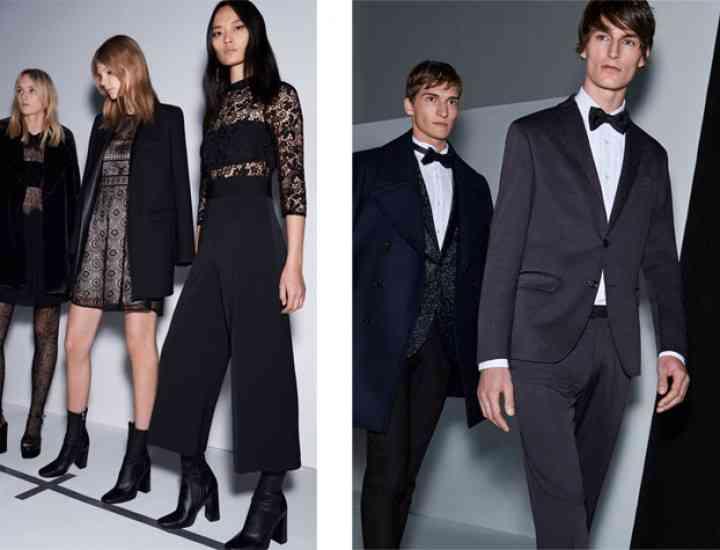 Colecția Zara pentru bărbați pentru sărbătorile de iarnă