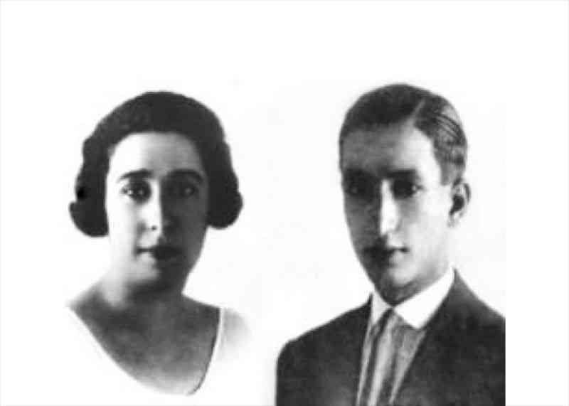 Edoardo și Adele Fendi, fondatorii casei de modă Fendi