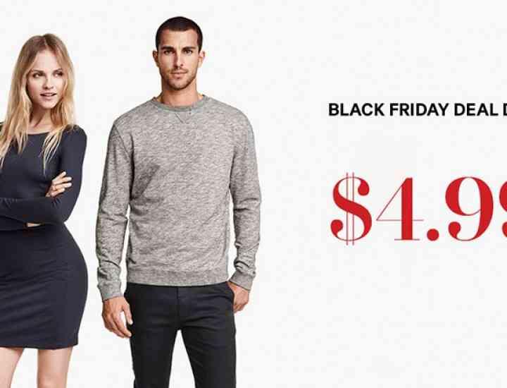 Reduceri pe site-ul H & M de Black Friday 2015