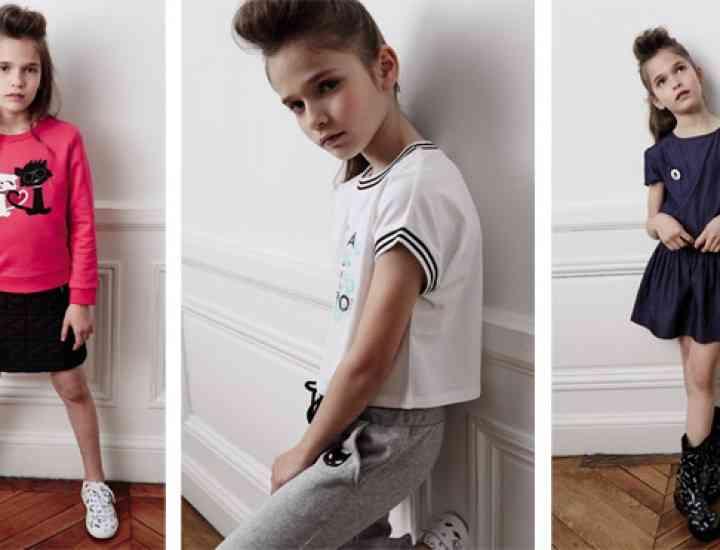 Karl Lagerfeld lansează o colecție de haine pentru copii