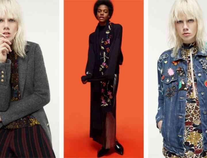 """""""A New Grunge"""", colecția Zara Woman TRF toamnă / iarnă 2015"""